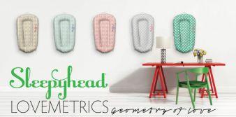 Lovemetrics heißen die neuen Sleepyhead-Designs.