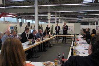 Beim KOMM Branchendialog wurde auch die Zukunft der KOMM Wallau diskutiert. Foto: Regina Wagner