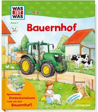 """Band 1 von WAS IST WAS Junior startet im Herbst neu mit dem Thema """"Bauernhof\"""