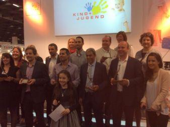 Die Sieger der Kind + Jugend Innovation Awards 2014.