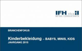Wo entwickelt sich der Markt für Kinderbekleidung hin? Antworten bietet der neueste IFH Branchenreport.