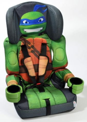 Inspired Products: Autokindersitze mit Comic-Charakteren