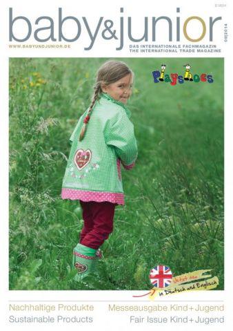 Die aktuelle Messeausgabe des Fachmagazins baby&junior gibt es als einmalige Aktion kostenlos im Download.