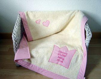 Die Decke Krone von Paulili heißt kleine Prinzessinnen willkommen und ist eine ganz besondere Erinnerung.