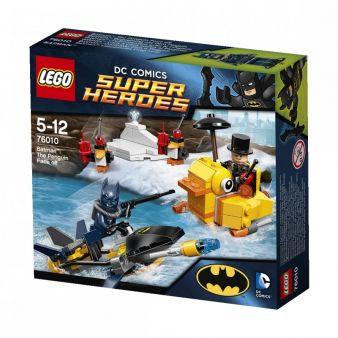 """In der Reihe """"DC Comics SUPER HEROES"""" von Lego darf natürlich auch Jubilar Batman nicht fehlen."""