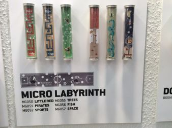 Besonders knifflig sind die Mikro-Labyrinthe von londji.
