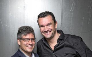 Tim Maule (l.) zusammen mit Martin Pos, CEO und Gründer von CYBEX.