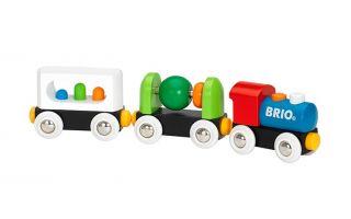Markenartikel wie die Brio Holzeisenbahn erzielen hohe Wiederverkaufspreise.
