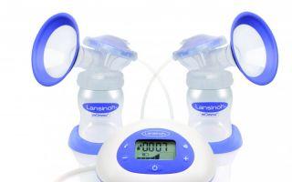 Die 2in1-Elektrische Milchpumpe ist kompatibel mit allen Lansinoh-Weithalsflaschen.
