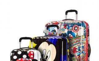 Die Reisetrolleys haben ein zum Design passendes Innenfutter, Packgurte und ein sicheres Gepäckschloss.
