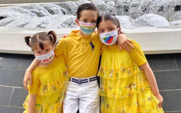 Gute Laune-Masken von The Three Masketeers