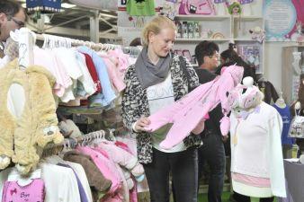 Anfassen, ausprobieren und kaufen sind bei der Baby- und Kleinkind-Messe angesagt. Foto: Fachausstellungen Heckmann