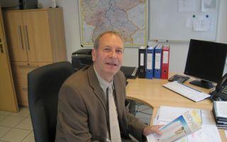 Kristof Strube, Verkaufsleiter bei Heitmann Felle.
