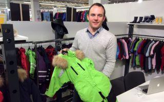 Marketing & Sales sind sein Geschäft: Mikko Schröder erklärte die Vorzüge des Schneeanzugs Räuberwald Pro von BMS.