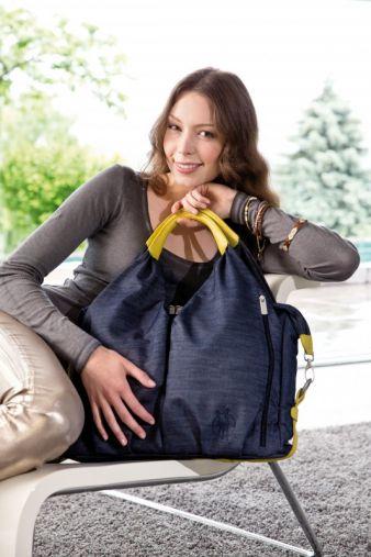 Neckline Bag Denim blue von Lässig.