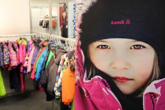 In der SCANDIC Corner im Obergeschoss ist Kindermode aus Dänemark, Schweden, Finnland und Island zu sehen.