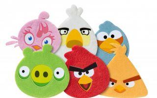 Gar nicht böse: Die Kuscheltrostpflaster mit Angry Birds-Motiven trösten und beruhigen.