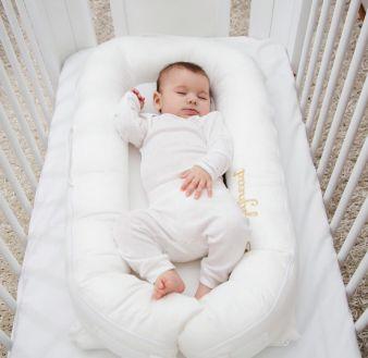 Den Bett-Einsatz gibt es in verschiedenen Farben und Mustern.