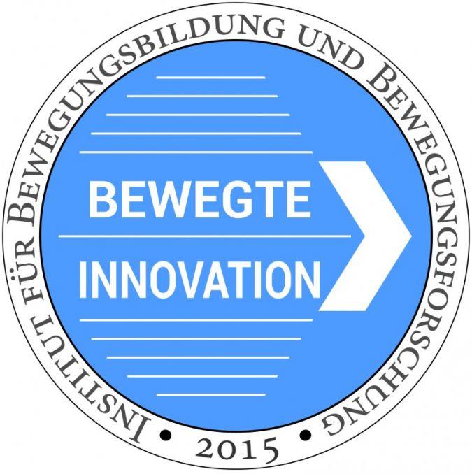 """""""Bewegte Innovation"""" ist das Qualitätssiegel für innovative Bewegungsgeräte."""