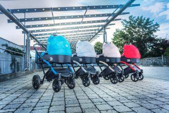 Die Polo-Kinderwagen gefallen mit gehobener Ausstattung.