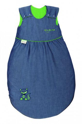 Den Klima-soft-Schlafsack gibt's in vier Farben.