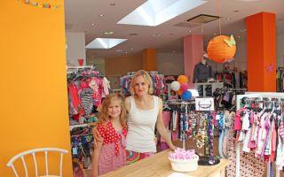 Geschäftsführerin Anne Baum und ihre älteste Tochter: Lollibel ist Familiensache.