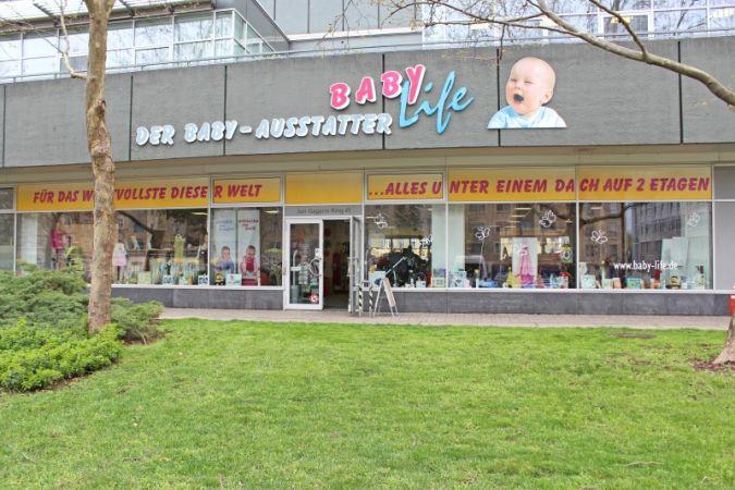 Für das Wertvollste dieser Welt: Baby-Life in Erfurt bietet viel Platz für Produkte rund um die Erstausstattung.