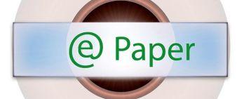Der neue ePaper-Button auf der Homepage.