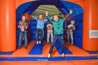 Die Halle Messe wird am 31. Januar und 1. Februar 2015 wieder zum Abenteuerspielplatz für die Kleinen.