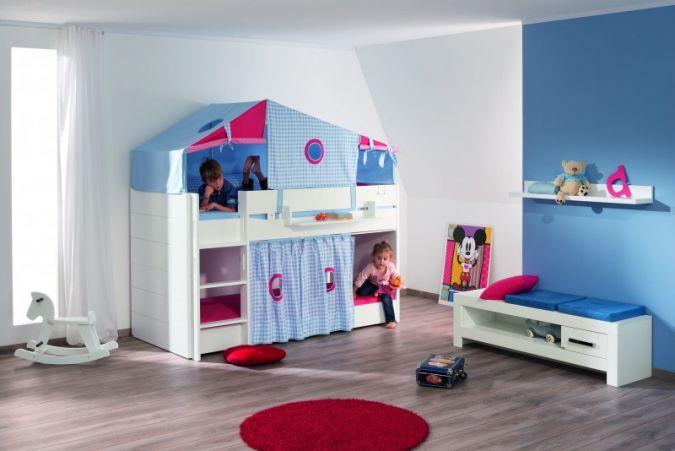 Paidi Etagenbett Vorhang : Paidi weiß kreideweiß fiona baby junior fachmagazin für