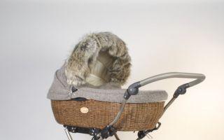 Im Weidenkörbchen des AngelCab Cervino kommen zarte Babys warm durch den Winter.