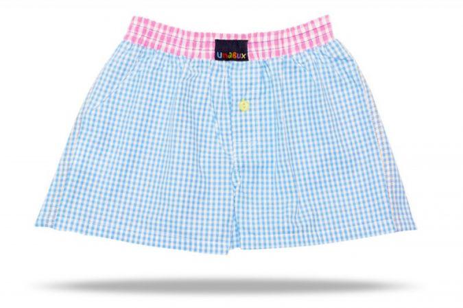 Kinder, die es gerne bunt mögen, tragen die ausgefallenen Boxershorts von Unabux.