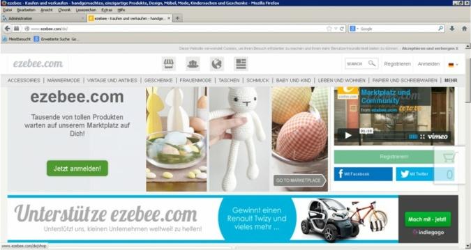 Kostenlos Produkte und Dienstleistungen online promoten - ezebee macht es möglich.