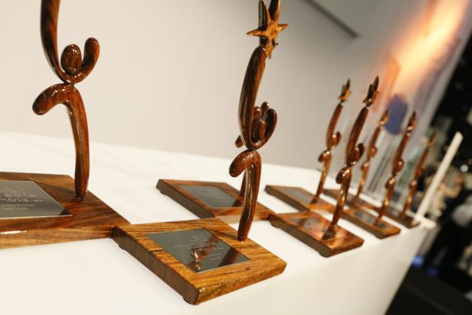 Um sie geht es: Die Trophäen werden in acht Kategorien vergeben.