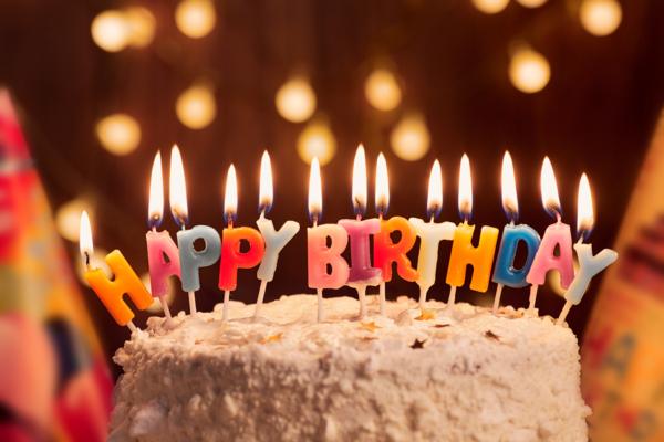 Geburtstag, Kuchen