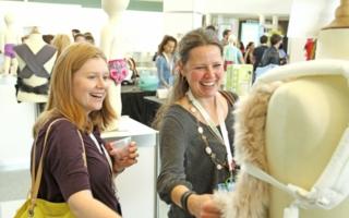 """Kleiner Vorgeschmack: Im Rahmen des """"New Product Showcase"""" wird schon vor dem offiziellen Start der ABC Kids Expo ein Überblick geboten. Foto:..."""