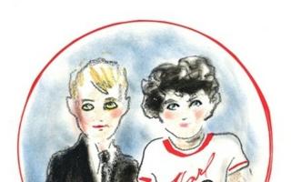 Skizze zur Kinderkollektion (@ Lagerfeld)