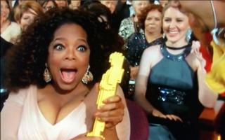 US-Talkmasterin Oprah Winfrey, deren Streifen \