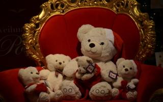 Teddybär_Thron