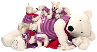 Käthe Kruse Eisbärenfamilie Oskar - Neuheit Herbst 2015  2