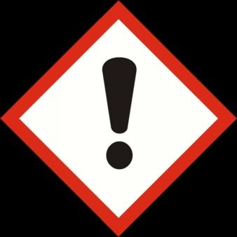 Sensibilisierend, reizend, gesundheitsschädlich oder die Ozonschicht schädigend.