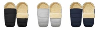 Der Polar Fußsack hält die Kleinen im Winter ordentlich warm.