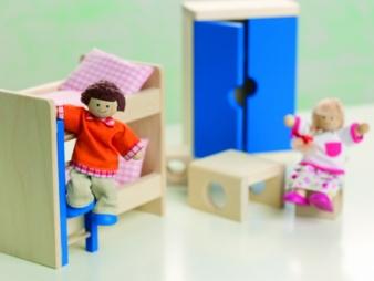 Mit dem Puppenhaus Villa Lilly sind dem Spielvergnügen keine Grenzen gesetzt.