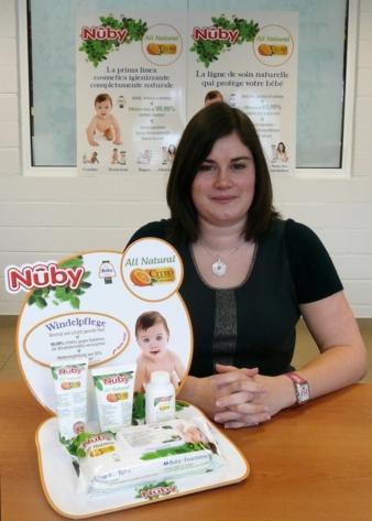 Anne-Sophie Detavernier, Produktmanagerin bei New Valmar in Belgien.