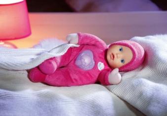 Dank des Nachtlichts vermittelt my little Baby born First Love Geborgenheit und Trost in der Dunkelheit.