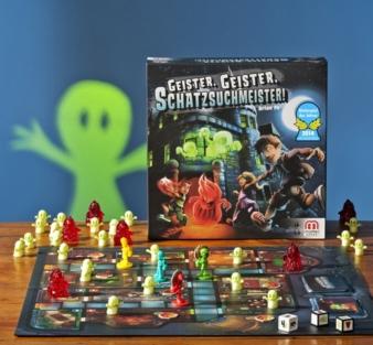 """Kinderspiel des Jahres 2014: """"Geister, Geister, Schatzsuchmeister"""" von Mattel."""