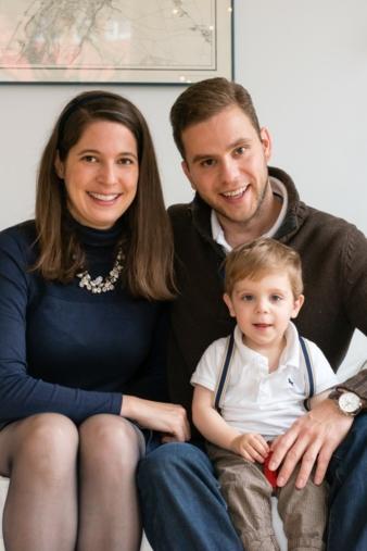 Inhaber Christina und Friedemann Holland verkaufen ihre Lederbezüge inzwischen auch in ausgewählten Baby- und Kinderfachgeschäften.