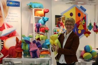 Textildesignerin Nicole Kettler ist mit ihrer Firma \