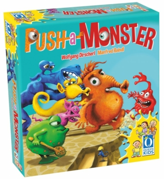 Viel zu eng wird es in der Arena – deshalb: Push a Monster!