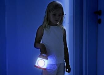 Mit der ab Kid'Sleep My Lantern finden die Kleinen auch nachts den Weg zur Toilette.